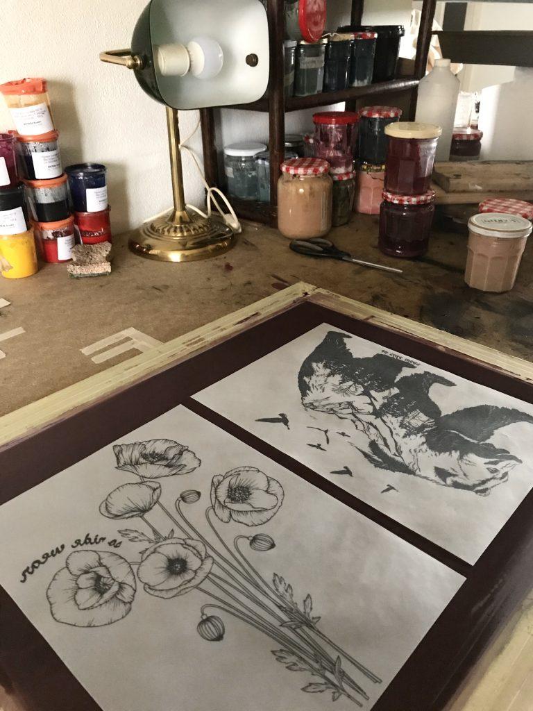 sérigraphie artisanale