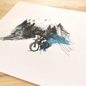 La carte fou de vélo