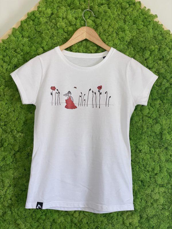 tee-shirt en coton bio femme